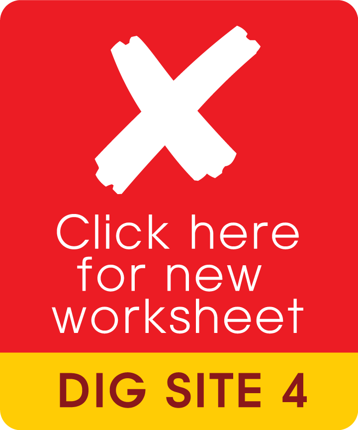 dig site card